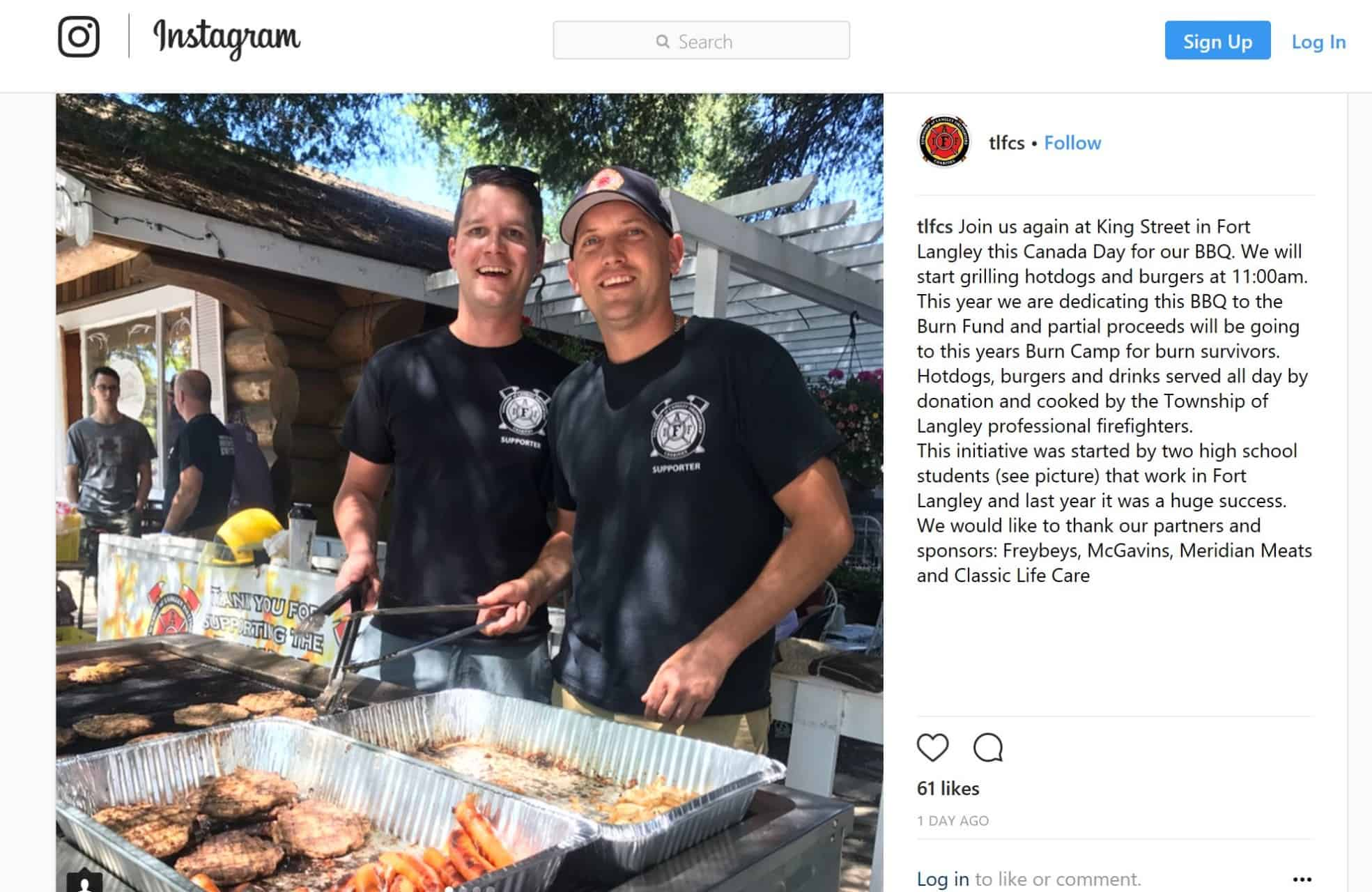 Join a July 1 Langley Barbecue for a Cause